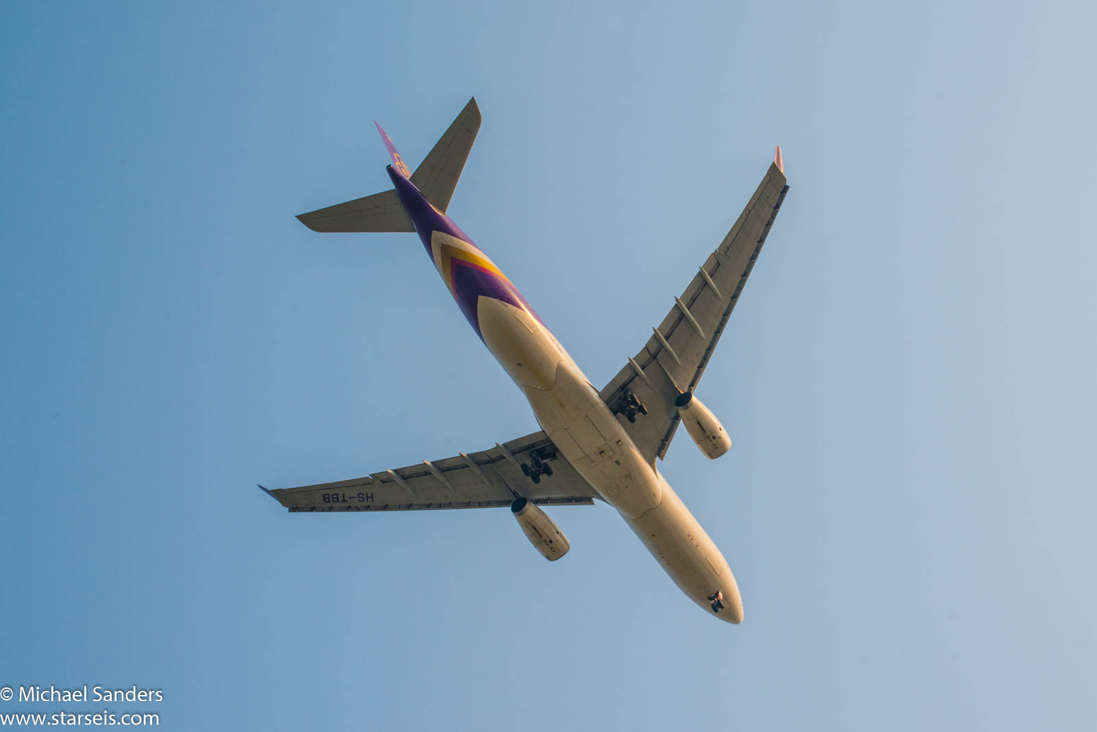 Thai Airways A330 HS-TBB