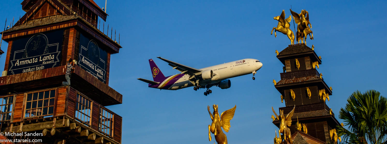Thai Airways 777 HS-TKE