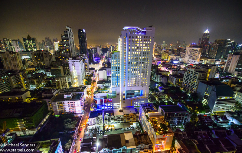 View from Above Eleven on Sukhumvit Soi 11